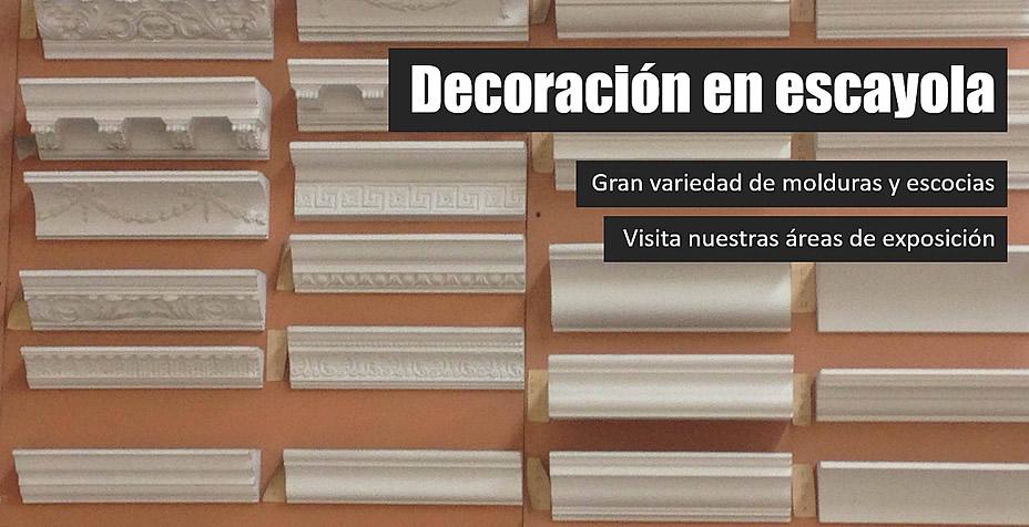 Yesos y escayolas en mallorca almacenes gomila gost - Decoracion de escayola ...