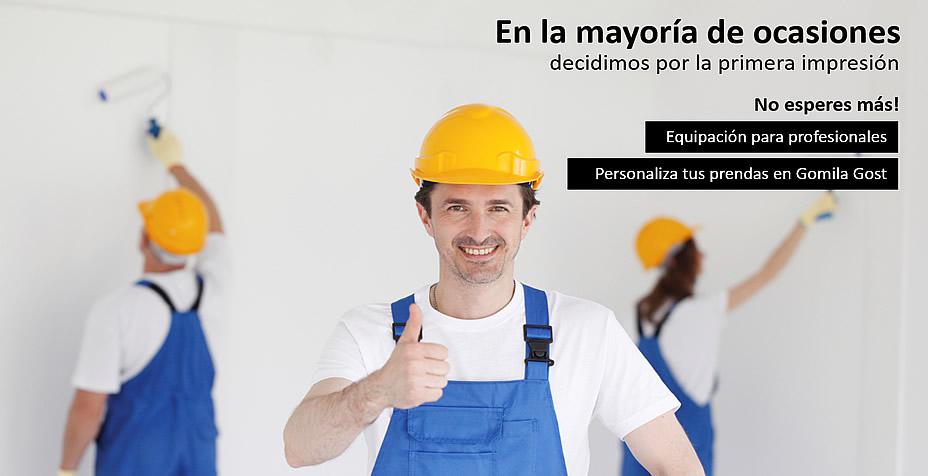 equipacion profesionales construccion