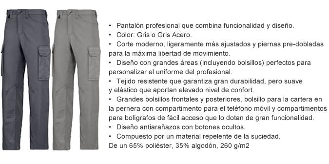 pantalon profesional