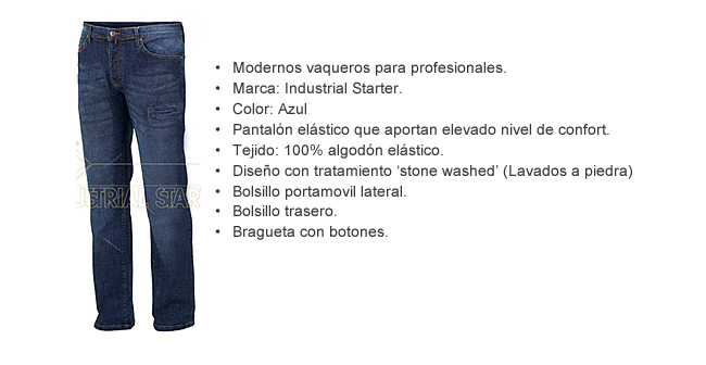 pantalon vaquero profesional